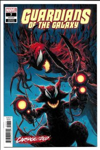 Guardians Of The Galaxy #7 Camuncoli Carnage-Ized Variant (Marvel, 2019) NM