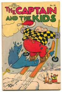 Captain and the Kids #25 1952- Golden Age comic FN-