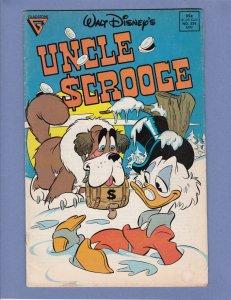 Uncle Scrooge #234 GD/VG