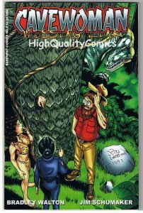 CAVEWOMAN MISSING LINK #2, NM, Budd Root, Big Foot,1997, more CW in store