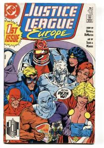 Justice League Europe #1 -FIRST ISSUE-Comic Book-DC