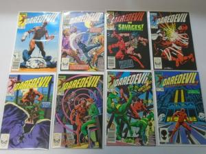 Daredevil comic lot #200-249 48 different issues average 7.0 (1983-87 1st Series