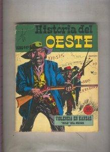 Historia del Oeste numero 11: Violencia en Kansas, Wild Bill Bickok