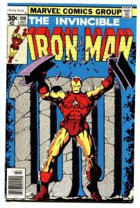 IRON MAN #100-comic book 1977-MARVEL BRONZE-AGE COMIC NM-