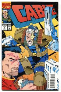CABLE #3 comic book  1st appearance of WEASEL Deadpool movie 1993