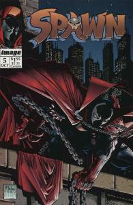 Spawn #5 VF; Image | save on shipping - details inside