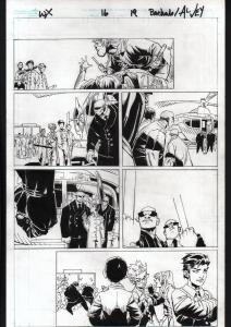 UNCANNY X-MEN #16-2012-ORIGINAL ART-PG 19-CHRIS BACHALO-MARVEL