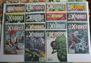 X-Force #116-129 Full Run VF/NM High Grade Zeitgeist Doop U-Go Girl X Statix