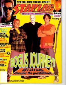 Starlog # 170 September Magazine Star Trek Star Wars Terminator Bill & Ted J292