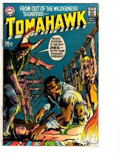 Tomahawk # 128 FN/VF DC Silver Age Comic Book Western Indians Neal Adams TP1