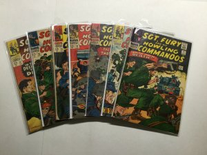 Sgt Fury And His Howling Commandos 31-37 Lot Run Set Gd To Vg 2.0-4.0 Marvel