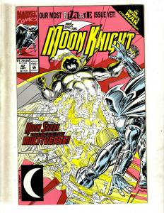 Lot Of 12 Moon Knight Marvel Comic Books # 42 43 44 46 47 49 50 52 1 2 2 3 CJ18