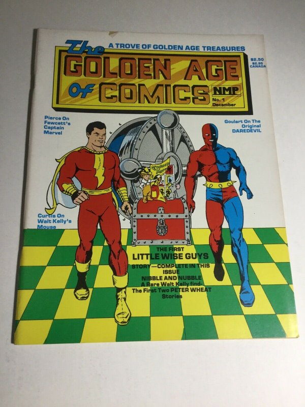 The Golden Age Of Comics 1 Fn Fine 6.0 NMP