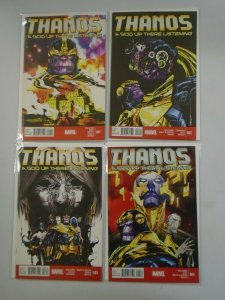 Thanos A God Up There Listening set #1-4 NM (2014)