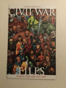 Civil War Files Vf/nm Very Fine/near Mint 9.0 Marvel