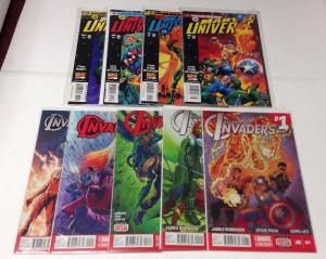 Invaders In Marvel Universe 1-4 All New Invaders 1-3 Near Mint Lot Set Run