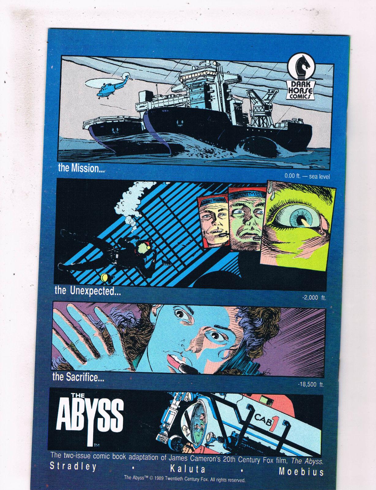 the abyss dark horse comics