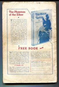Weird Tales August 1935- Brundage cover- 1st DOCTOR SATAN-Pulp Magazine