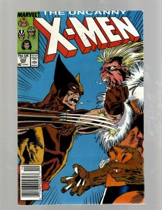 Uncanny X-Men # 222 VF/NM Marvel Comic Book Beast Angel Cyclops Magneto SM19