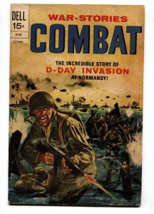 Combat #37 1972- Dell Comics- D-Day invasion Normandy G/VG
