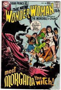 WONDER WOMAN #186 (NG) DC Comics