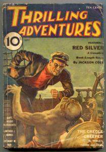 Thrilling Adventures Pulp September 1933- Creole Creeper