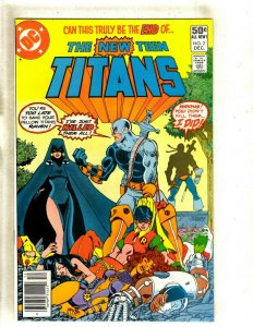 New Teen Titans #2 NM DC Comic Book Raven Cyborg Beast Boy Flash Deathstroke HJ9
