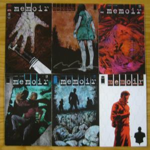 Memoir #1-6 VF/NM complete series - mystery & memory loss - ben mccool - signed
