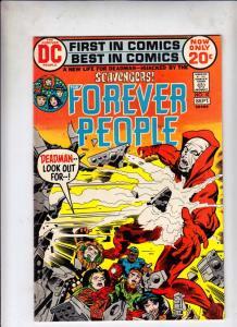 Forever People #10 (Sep-72) NM/NM- High-Grade Big Bear, Beautiful Dreamer, Se...