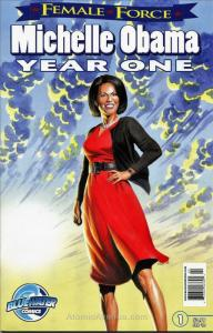 Female Force: Michelle Obama #2 VF/NM; Bluewater | save on shipping - details in