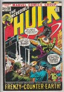 Incredible Hulk #158 (Dec-72) VF+ High-Grade Hulk