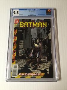 Batman 574 Cgc 9.8 White Pages 9th Appearance Of Harley Quinn Regular Dcu