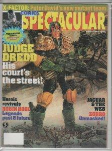 COMICS SCENE SPECTACULAR #5 VF- A01143