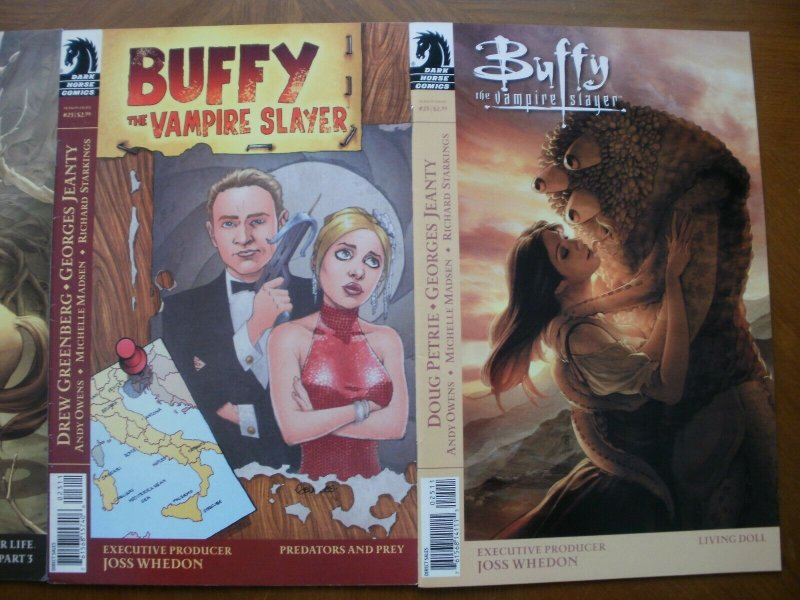 3 Dark Horse Comic: BUFFY THE VAMPIRE SLAYER #18 23 25 (Time of Your Life Doll)