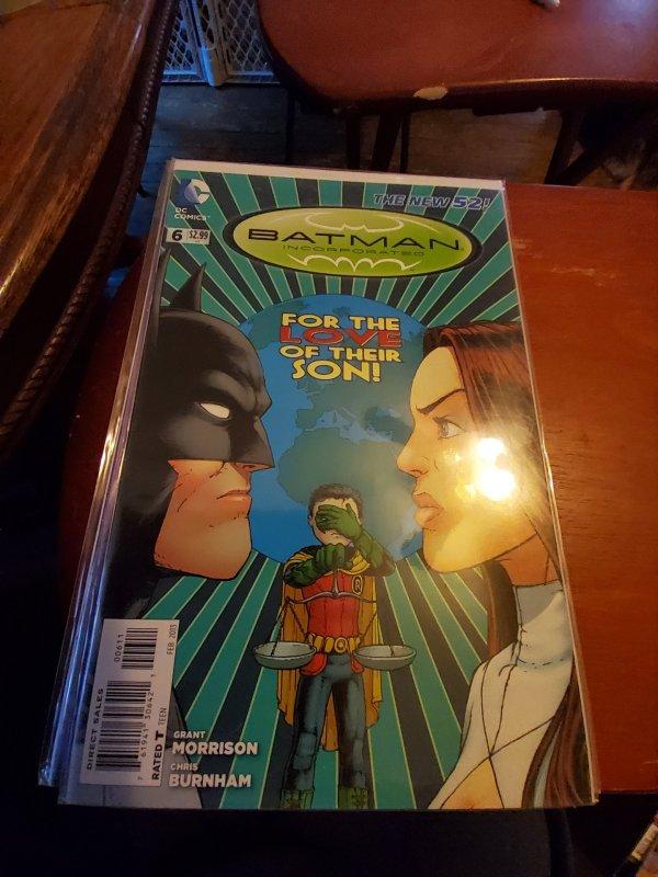 Batman, Incorporated #6 (2013)