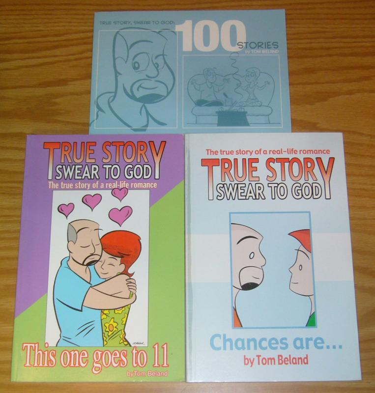 True Story Swear To God TPB 1-2 VF/NM complete series+100 stories beland romance