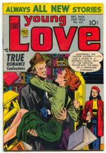 Young Love #63 1955-Final pre-code issue-romance VF