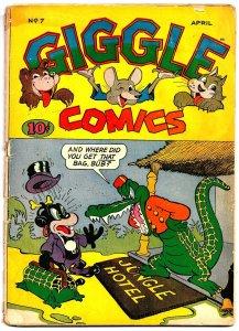 GIGGLE COMICS #7(Apr1944) 3.0 GD/VG * Dan Gordon! * Ken Hultgren! * Lynn Karp!