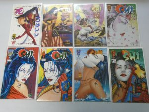 Shi comic lot 15 different NM