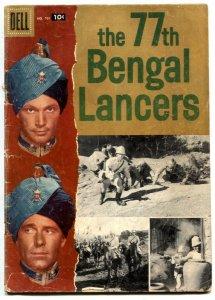 77th Bengal Lancers-Four Color Comics #791 1957-- G/VG