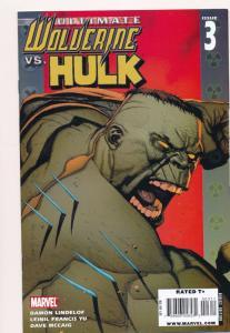 Ultimate Wolverine Vs. HULK #3 ~ Marvel Comics 2005 ~ NM (HX531)