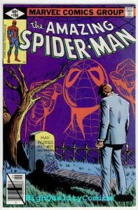 AMAZING SPIDER-MAN #196, VF+ to NM, Death Aunt May, Wolfman, more ASM in store