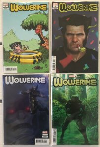 Wolverine #1 Variants 4 Book Lot Dawn of X