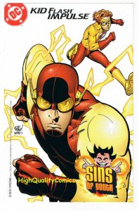 YOUNG JUSTICE, NM, Sins of Youth, Flash, Insert, 2000, more in store
