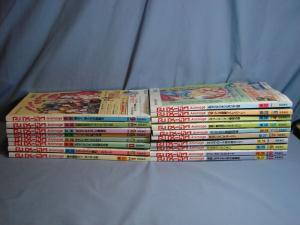JAPANESE Magazine ANIMAGE Issues Vol. #204-221 18 Books RARE ANIME MANGA 1995/96