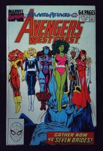 Avengers West Coast Annual #4 (1989)