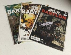 The Sheriff Of Babylon 7 8 9 Nm Near Mint Vertigo Comics