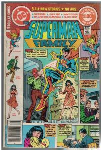 SUPERMAN FAMILY 210 VG Sept. 1981