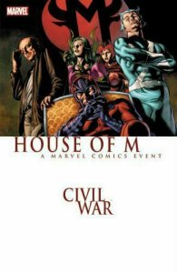 CIVIL WAR HOUSE OF M TP - MARVEL COMICS - 2016