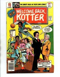Welcome Back Kotter #1 newsstand - 1st issue - John Travolta - 1976 - VF/NM